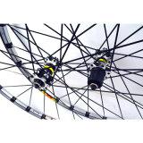 MTB عني 26er 27.5er 29ER ستة ثقوب قرص الفرامل عجلة الكروم 24H 11 سرعة دعم سبيكة حافة العجلات