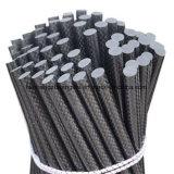 Fibra ad alta resistenza Rod solido, Pultruded Palo del carbonio