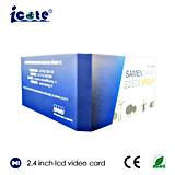 2.4 Zoll LCD-videobroschüre für Geschäft