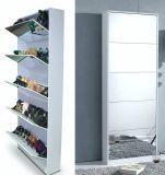5 portas armário da Sapata do Espelho