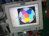 2개의 헤드 Dahao 9개의 색깔을%s 가진 편평한 자수 기계