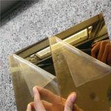 لون ذهبيّة أكريليكيّ مرآة [شيت/2مّ] بلاستيكيّة مرآة صفح