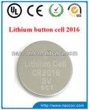 Batterie Cr2032 pour la batterie de bouton de lithium de produits de DEL