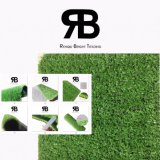 15mm Decoraction Césped Césped Artificial sintético para Sand Hill /vía la ecologización de jardinería