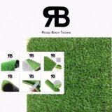 15mm Decoraction 정원사 노릇을 하기 녹색이 되어는 모래 언덕 /Roadway를 위한 합성 인공적인 잔디밭 뗏장 잔디