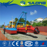 砂および再生利用作業のためのJulong Jlcsd350のカッターの吸引の浚渫船