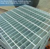 Grille d'acier lisse galvanisée à chaud DIP pour plate-forme Walkway