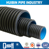 Nouveau matériau ondulé Double-Wall HDPE de tuyau de drainage pour la construction