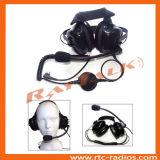 Двухстороннее радиоий за головным типом сверхмощный шлемофоном
