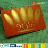 Carte de membre avec la promotion de l'impression personnalisée en plastique de la puce RFID Smart