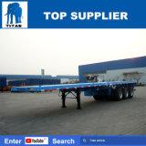 수송을%s 반 대륙간 탄도탄 60t 40FT 콘테이너 평상형 트레일러 트레일러