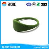 Nilón RFID Wrisband del PVC del control de acceso para los acontecimientos