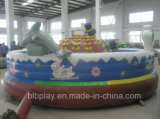 Happy Turtle Inflatable Bounce pour les enfants