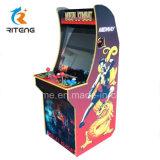 아케이드 비디오 게임 판매를 위한 오래된 게임 기계