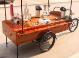 Triciclo de comida rápida/carro de expendedoras de café y caféBike