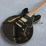 Jazz de corps creux, guitare électrique avec reliure noir (TJ-231)