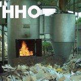 Générateur de gaz de Hho pour l'incinération de rebut