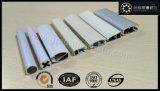 Aluminium Gordijn Track profiel voor Window Blinds met houtkleur