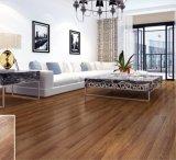 Pavimentazione allentata del PVC di disposizione del reticolo di legno giallo