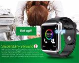 Teléfono elegante del reloj de Bluetooth del deporte colorido con la Tarjeta-Ranura A1 de SIM