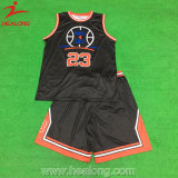 Uniforme do basquetebol do projeto do Sublimation de Healong Camo