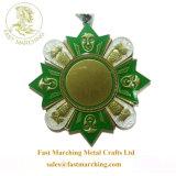 カスタム工場価格の安いギフトのフィニッシャーの日曜日の花メダル賞
