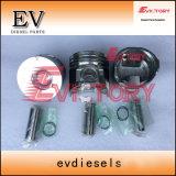 Para Isuzu 3ld2 Kit de reparación del motor 3ld2 anillo del pistón camisa del cilindro Kit de juntas de culata de la válvula de apoyos del cigüeñal