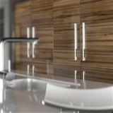 Alto Gloss Modular Kitchen Cabinets per la mobilia di Home (Customized)