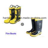 La lucha contra incendios incendio botas cumplen la norma CE (HT-10B)