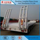 4 verwijdt de Semi Aanhangwagen van het laag-Bed van de Container van de as met het Slot van de Steun en van de Draai