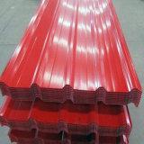 L'alta qualità ha preverniciato lo strato ondulato del tetto fatto in Cina