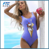 Zoll Ihr Entwurfs-Badebekleidung Soem-einteiliger Badeanzug-Bikini für Frauen