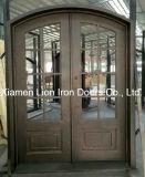 Portelli di entrata su ordinazione del doppio del ferro saldato di obbligazione con vetro