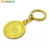 주문을 받아서 만들어진 로고 선전용 금속 Keychain