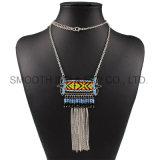 工場カスタムマルチ層はニースのチョークバルブの女性の宝石類のネックレスを連鎖する