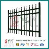 Garten-Zaun-Stahlröhrengarten, der bearbeitetes Eisen-Garten-Zaun einzäunt