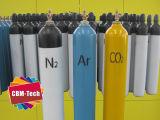 Cilindri di ossigeno dell'acciaio senza giunte dell'OEM (WMA219-40-15)