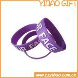 Verkauf die Qualität Deboss Silikon-/GummiWristbands mit Firmenzeichen-Drucken (YB-w-015)