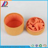 La pelusa del cilindro de redondo de material de embalaje de regalo Caja con tapa