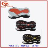 Varios estilos vendedores superiores Outsole para la fabricación de los zapatos