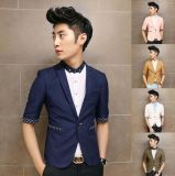 Casaco casual de algodão casual com design personalizado para homens