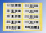 Пользовательский код-128 липких штрихового кода