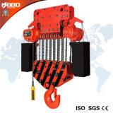 elektrische Kettenhebevorrichtung 40t mit manuelle Laufkatze-Hebezeug