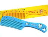Cómoda asa de plástico OEM peine el cabello