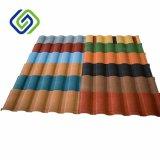 Azulejo de material para techos revestido vendedor caliente del metal de la piedra del azulejo de material para techos