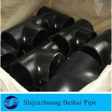Te de la instalación de tuberías del acero de carbón A234 Wpb Sch80 Smls