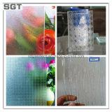 6-7mm divers motifs de la taille de verre verre laminé pour différents usages
