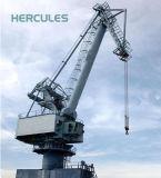 Eléctrica Marina Puerto barco grúa hidráulica con gran capacidad