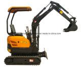 Mini máquina escavadora Chain de borracha de Wy15h 1.4ton