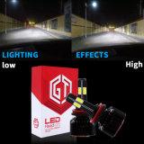 Lampadina di vendita calda dell'automobile del LED con il faro automatico dell'indicatore luminoso di 6000K LED e dell'automobile LED di alto potere